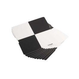 Adhesive B&W Checker Targets Pack (10)